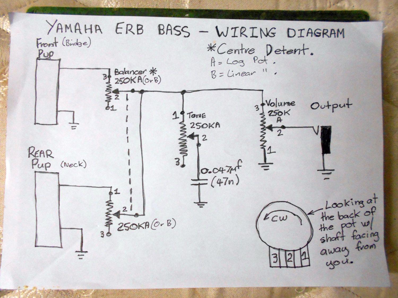 My yamaha bass guitar name erb bass wiringresizedg views 430 cheapraybanclubmaster Images