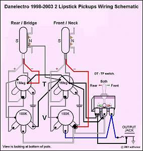 Lipstick Pickups Wiring Diagram - Wiring Diagrams List on
