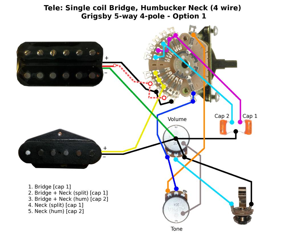 Humbucker Coil Split Wiring Diagram from www.buildyourownguitar.com.au